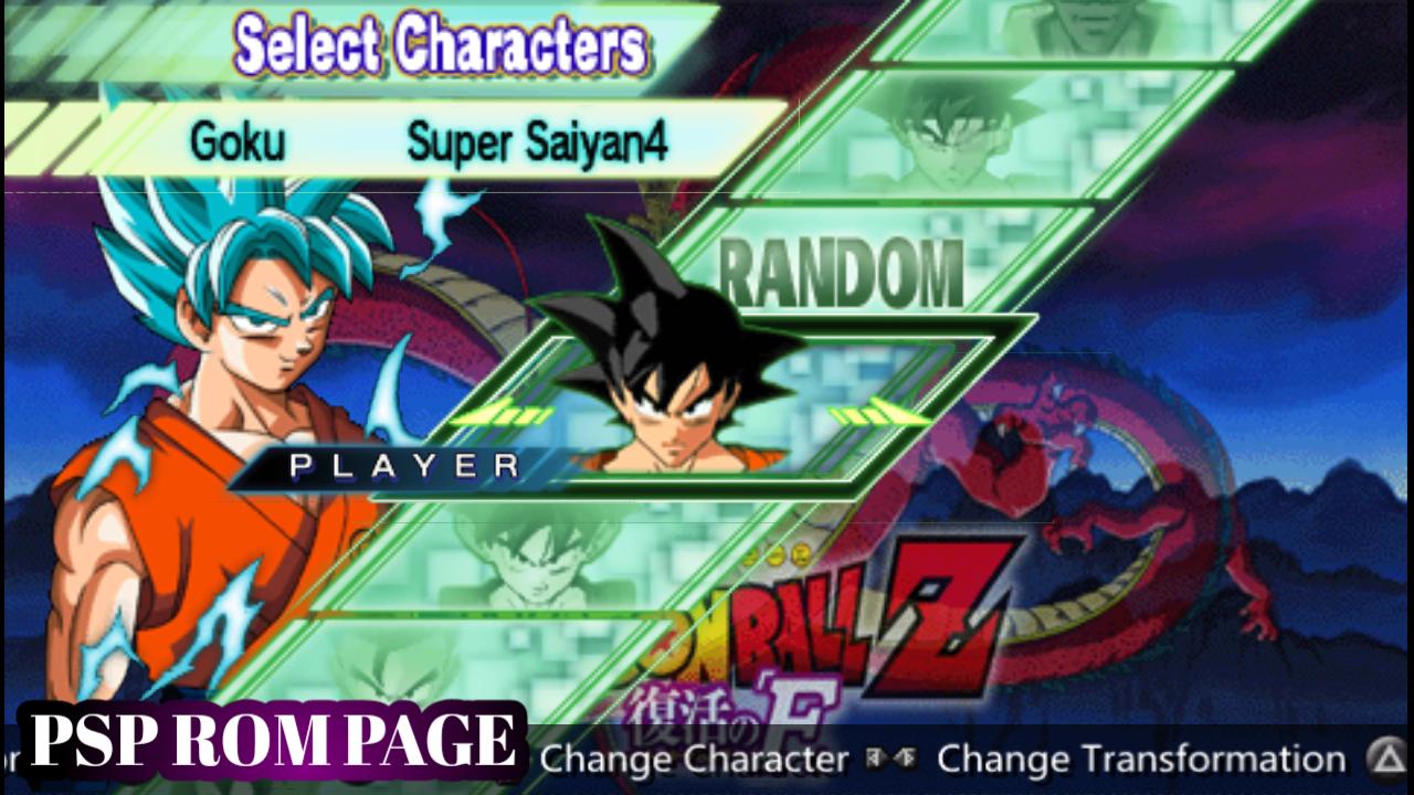 Dragon Ball Z Shin Budokai 2 Psp Save Data